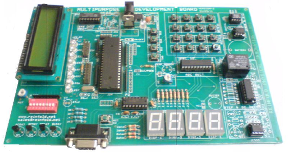 Microcontroller 8051 Development Board